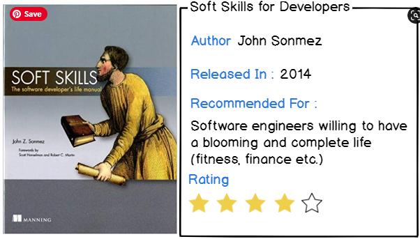 10 – Soft Skills The Software Developer's Life Manual by John Sonmez