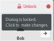 Add a user using the GNOME desktop unlock