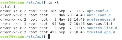 Adding custom APT repositories etc-apt