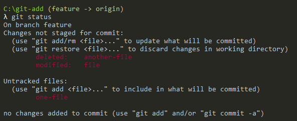 Adding deleted and modified files only git-add-deleted-files