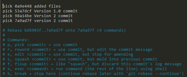 Amend Git Commit Message using rebase rebase
