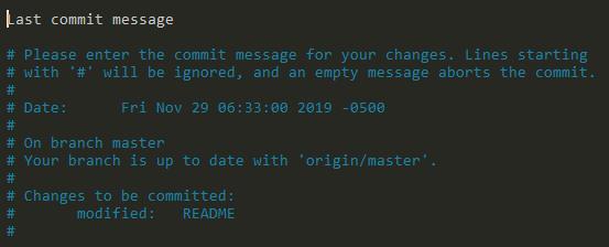 Amend Last Git Commit Message last-commit