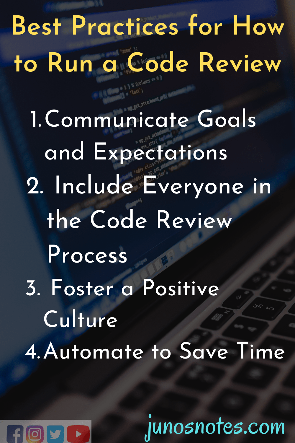 Best Practices for How to Run a Code Review