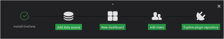 Configuring Grafana for InfluxDB add-datasource