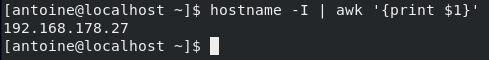 Connecting to your SSH server hostname