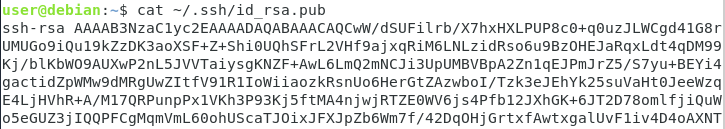 Copy SSH keys to your Git server id-rsa