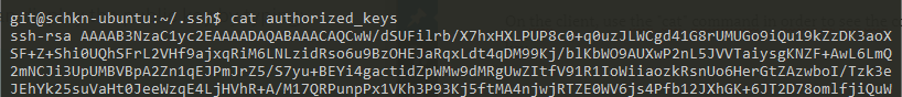 Copy SSH keys to your Git server server