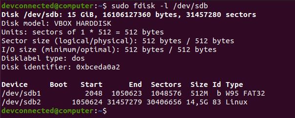 Creating Basic Disk Layout fdisk-command-disk