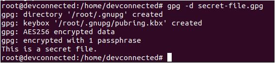 Decrypt Encrypted File on Linux decrypt-file-root