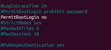Disabling Root Login over SSH ssh-root-login