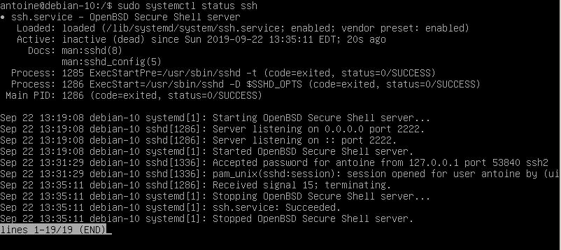 Disabling your SSH server disable-ssh