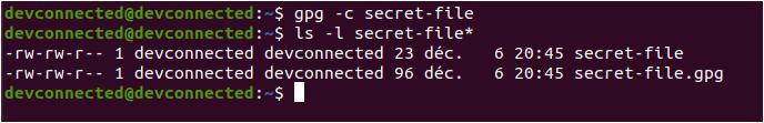 Encrypt Files using passphase protection encrypt-file-using-gpg