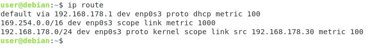 Find Default Gateway IP Address ip-route