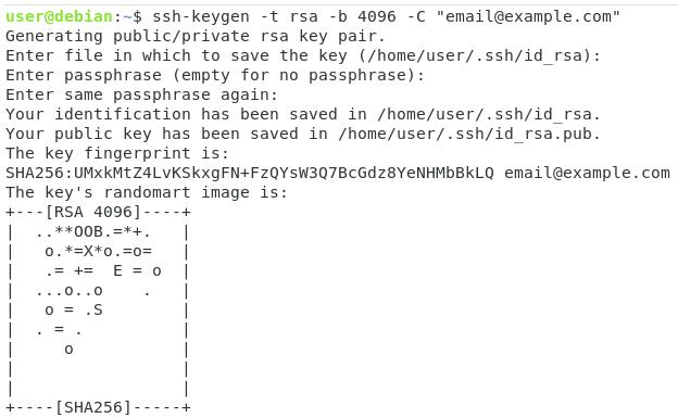 Generate SSH Keys on Linux ssh-keygen