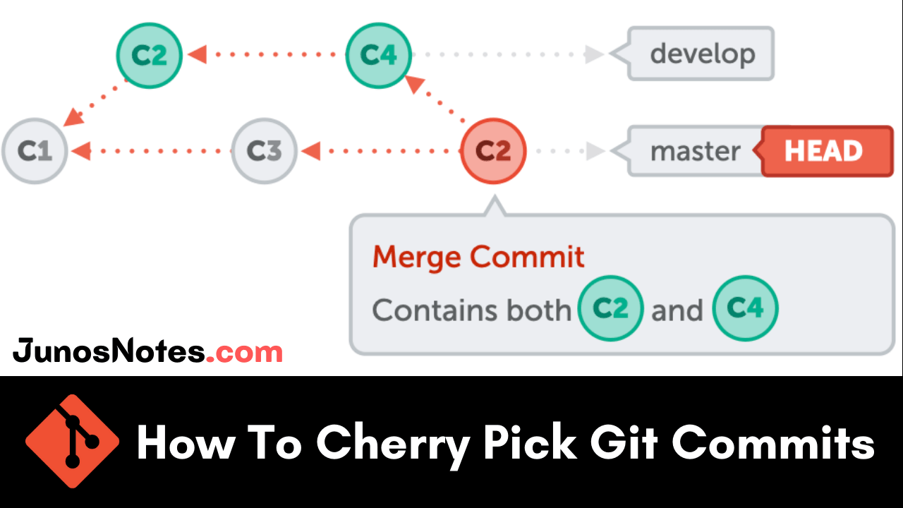 How To Cherry Pick Git Commits