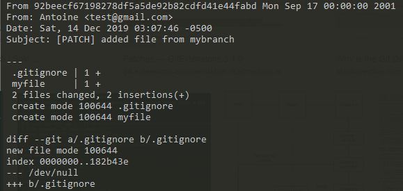 How To Create and Apply Git Patch Files patchfile