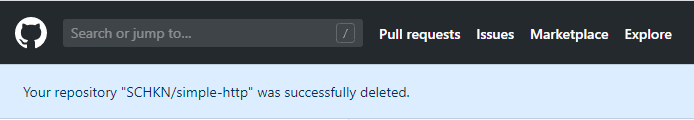 How To Delete a GitHub Repository confirmation