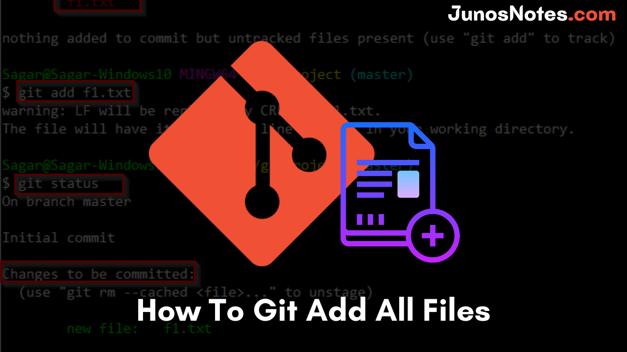 How To Git Add All Files