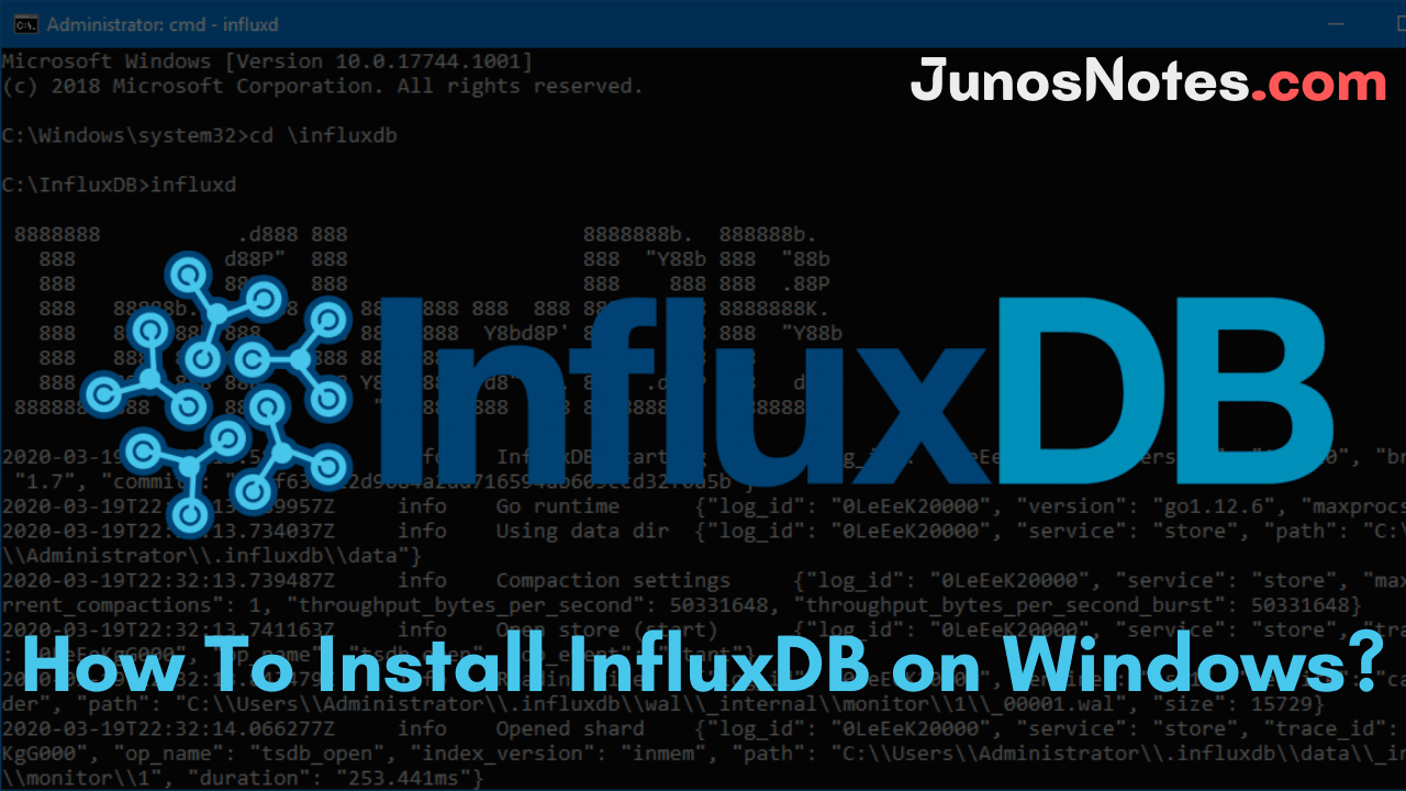How To Install InfluxDB on Windows