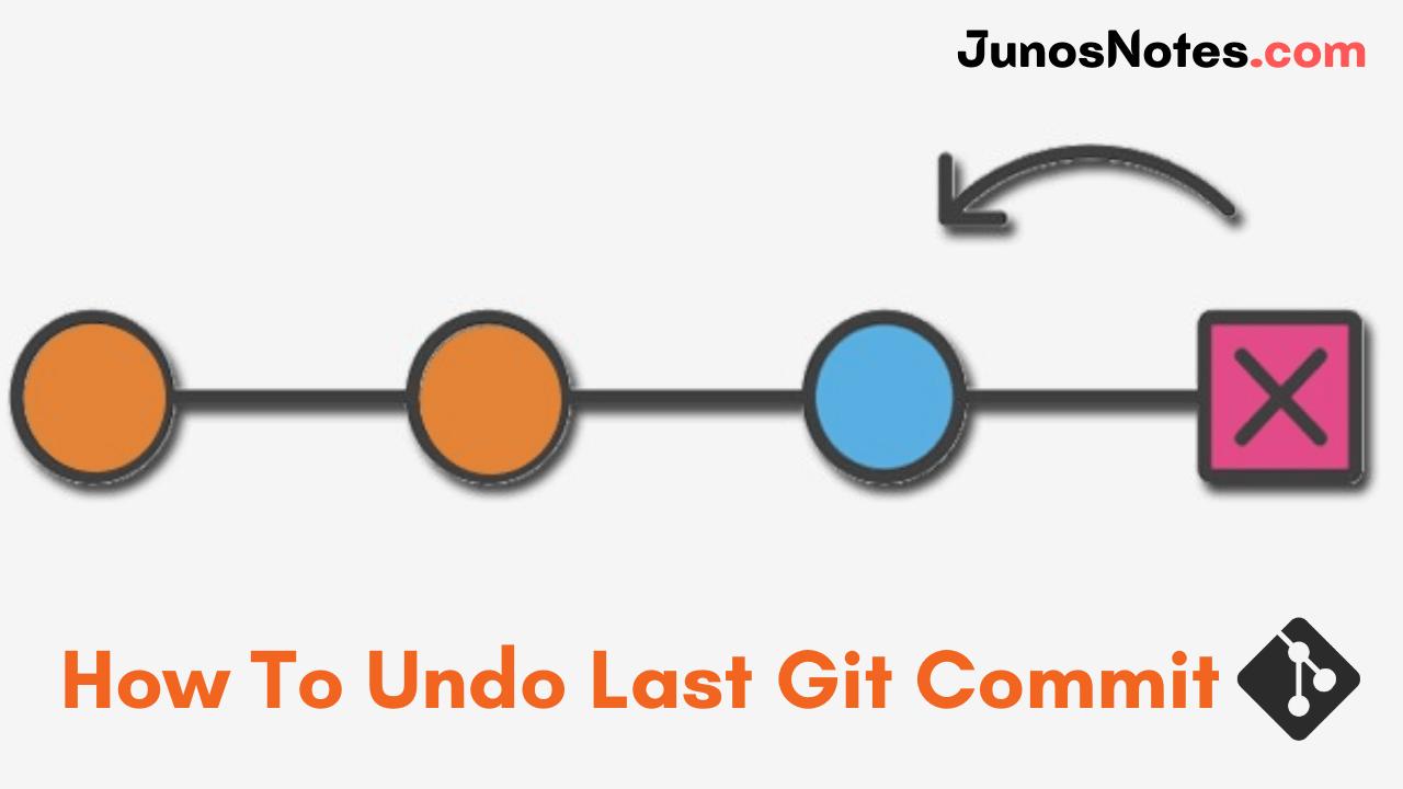 How To Undo Last Git Commit