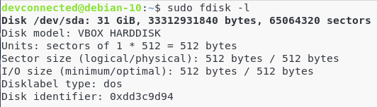 II - How does storage work on a Linux system fdisk-simple
