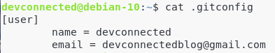 IV – Configuring Git gitconfig-file