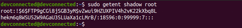 Inspecting the shadow file root-locked