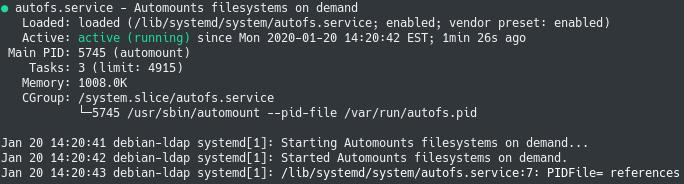 Installing AutoFS on Linux autofs-service