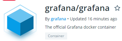 Installing Grafana on Docker grafana-image