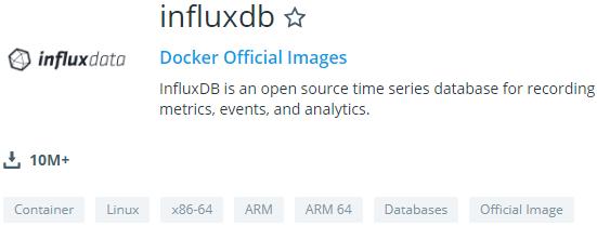 Installing InfluxDB 1.7.x on Docker influxdb-docker-hub