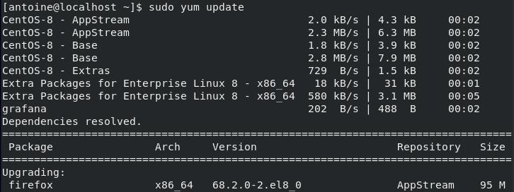 Installing OpenSSH Server on CentOS 8 update