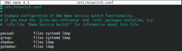 Linking client information to LDAP client-8