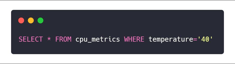 Measurement IFQL example