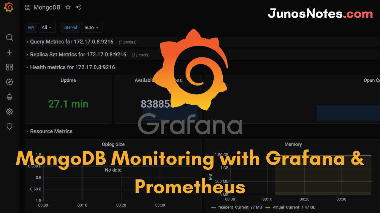MongoDB Monitoring with Grafana & Prometheus
