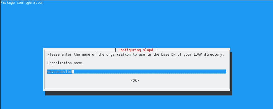 Reconfiguring slapd using dpkg-reconfigure slapd-3
