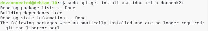 b – Install documentation dependencies manual-2