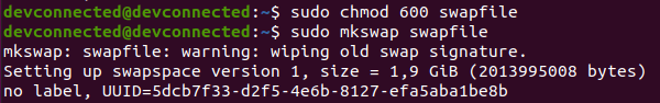 c – Enable your swapfile mkswap-swap-file