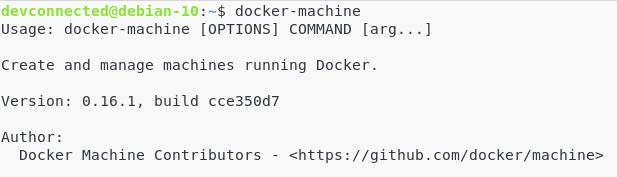 docker-machine
