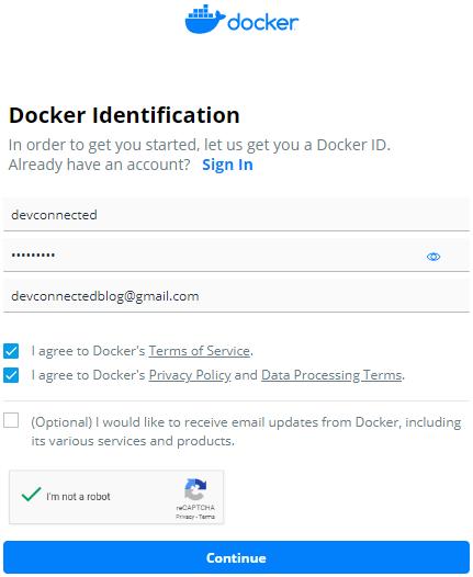 docker-sign-up