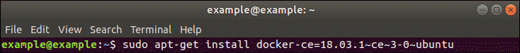 how to install docker using official repository example