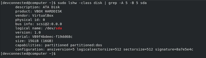 list-disks-using-lshw-1