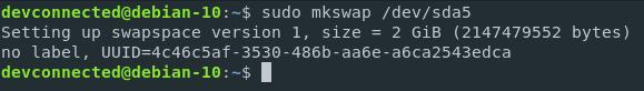 mkswap-2