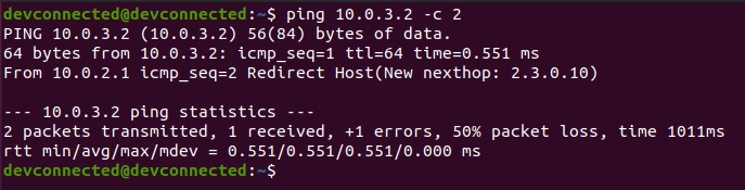 ping-first-network
