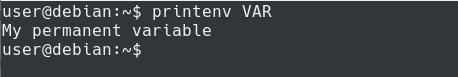 Setting Permanent Environment Variables in Bash printenv