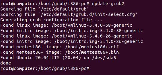 update-grub2-command